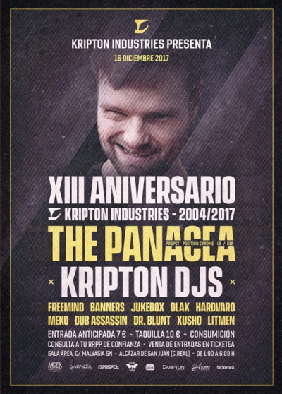 eventos-cartel-13aniversario-the-panacea